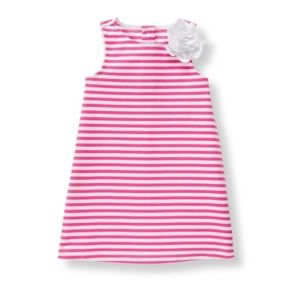 Janie and Jack-striped ponte dress